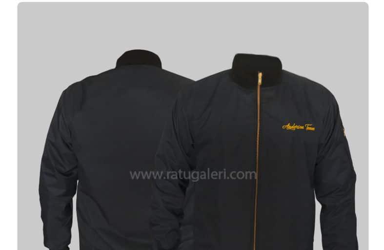 Hasil Dan Produksi Dan Desain Jaket Evanza Bomber Anderson Team