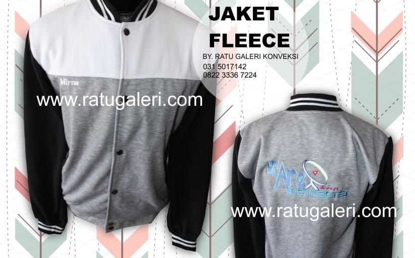 Contoh Desain Konveksi Jaket Varsity Fleece We Are Connection