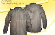 Hasil Produksi dan Desain Jaket Taslan Fleece Engineering