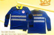 """Hasil Produksi dan Desain Kaos cotton combed """"PT. Tanjung Bersinar Cemerlang"""""""