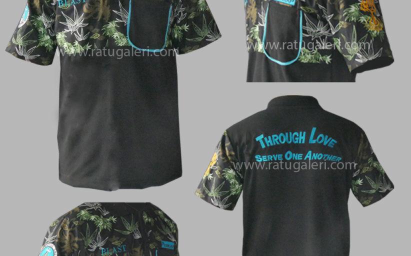 Hasil Produksi Dan Desain Poloshirt Universitas Petra Surabaya