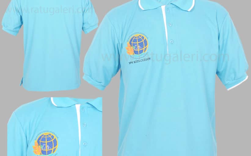 Hasil Produksi Dan Desain Poloshirt Lacoste BPN Kota Cilegon