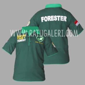Hasil Produksi Poloshirt Forester
