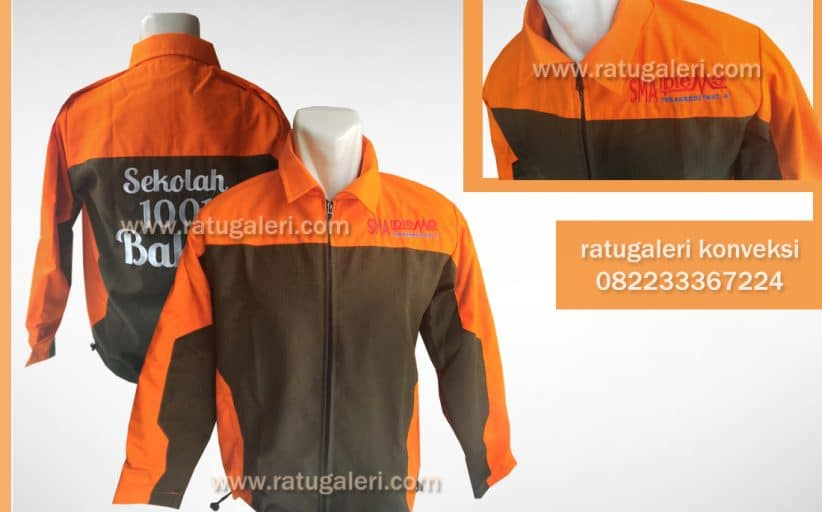 Hasil Produksi dan Desain Jaket ripstop , Ipiems 1001.