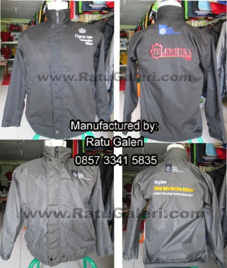 Jaket Magister Chief Information ITS