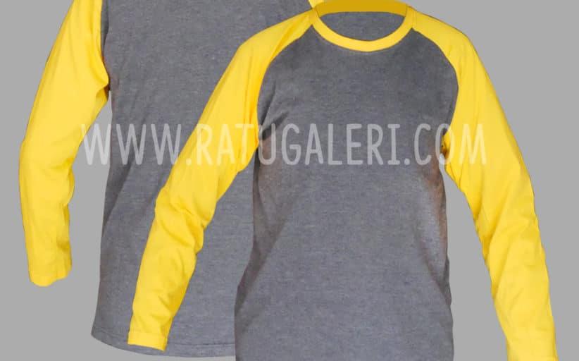 Hasil Produksi Dan Desain Kaos Cotton Combad Misty Raglan