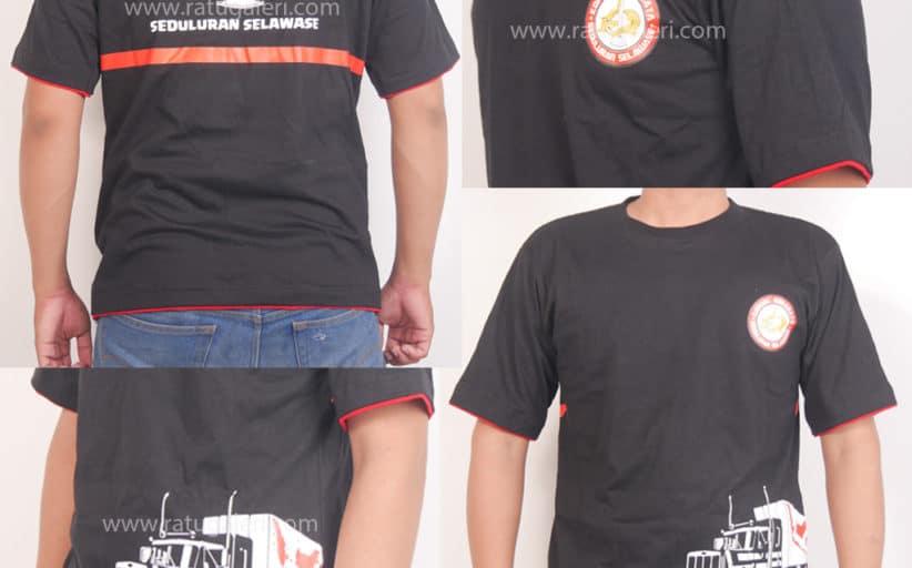 Hasil Desain dan Produksi Kaos Combad Korwil Surabaya
