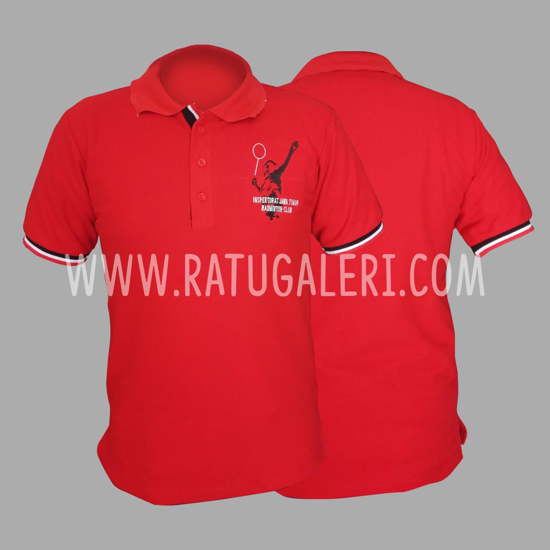 Hasil Produksi Poloshirt Badminton Inspektorat JawaTimur