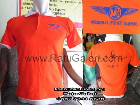Polo Kaos Merpati Pilot School