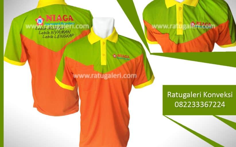 Hasil Produksi dan Desain Seragam Poloshirt, Niaga Supermarket