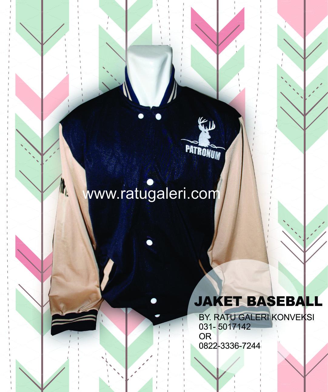 Contoh Desain Jaket Baseball Diadora PATRONUM