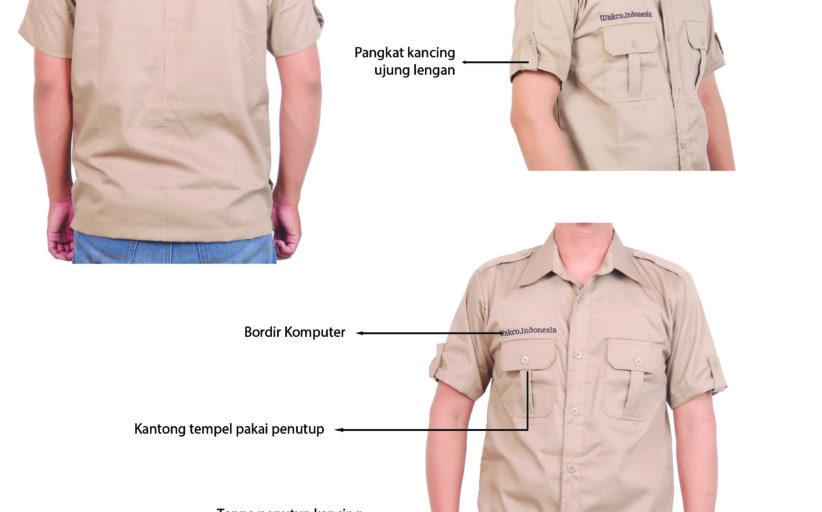 Hasil Produksi Dan Desain Kemeja American Drill Wakco Indonesia