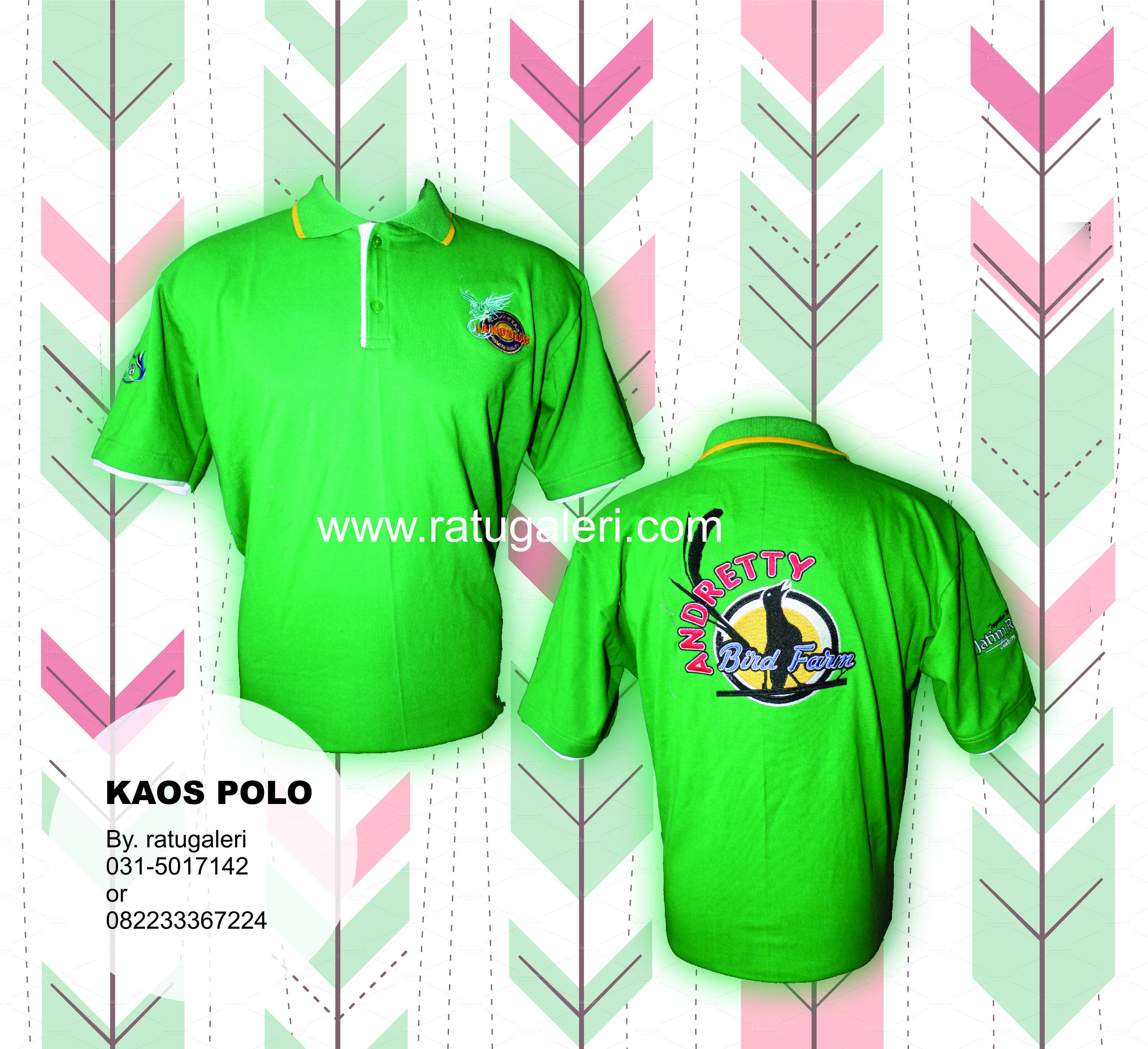 Contoh Desain Kaos Kerah Polo ANDRETTY