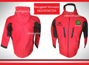 jaket merah surya
