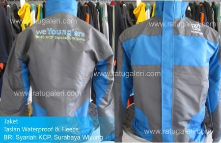 jaket taslan, waterproof, surabaya