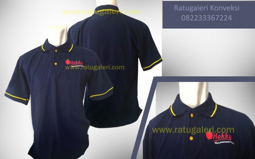 Hasil Produksi dan Desain Poloshirt, Hokky.