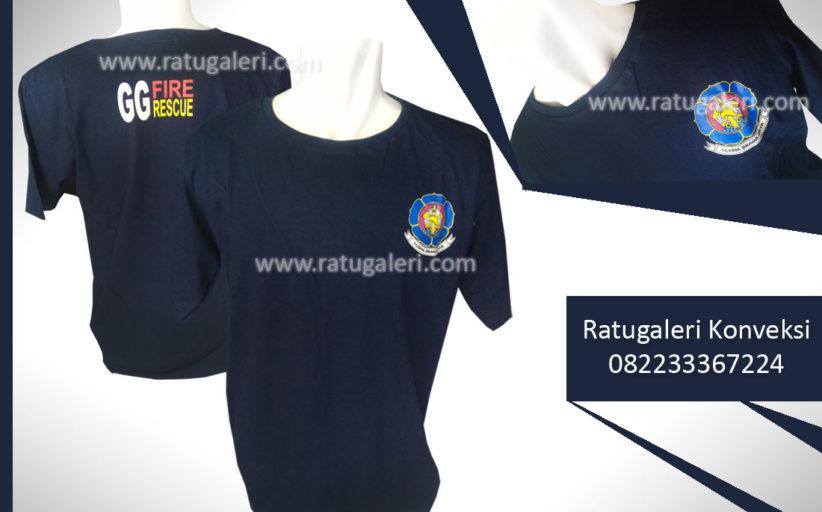 Hasil Produksi dan Desain Kaos Sablon GG FIRE