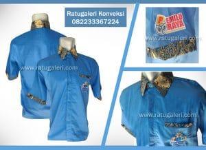 pemilu raya kemeja drill batik