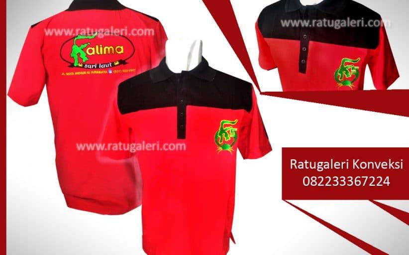 Hasil Produksi dan Desain Poloshirt, K5 Sarilaut.