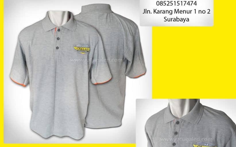 Hasil Produksi dan Desain Poloshirt Classic Garage