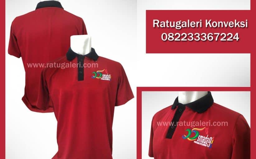 Hasil Produksi dan Desain Poloshirt Lacoste, Smada91.