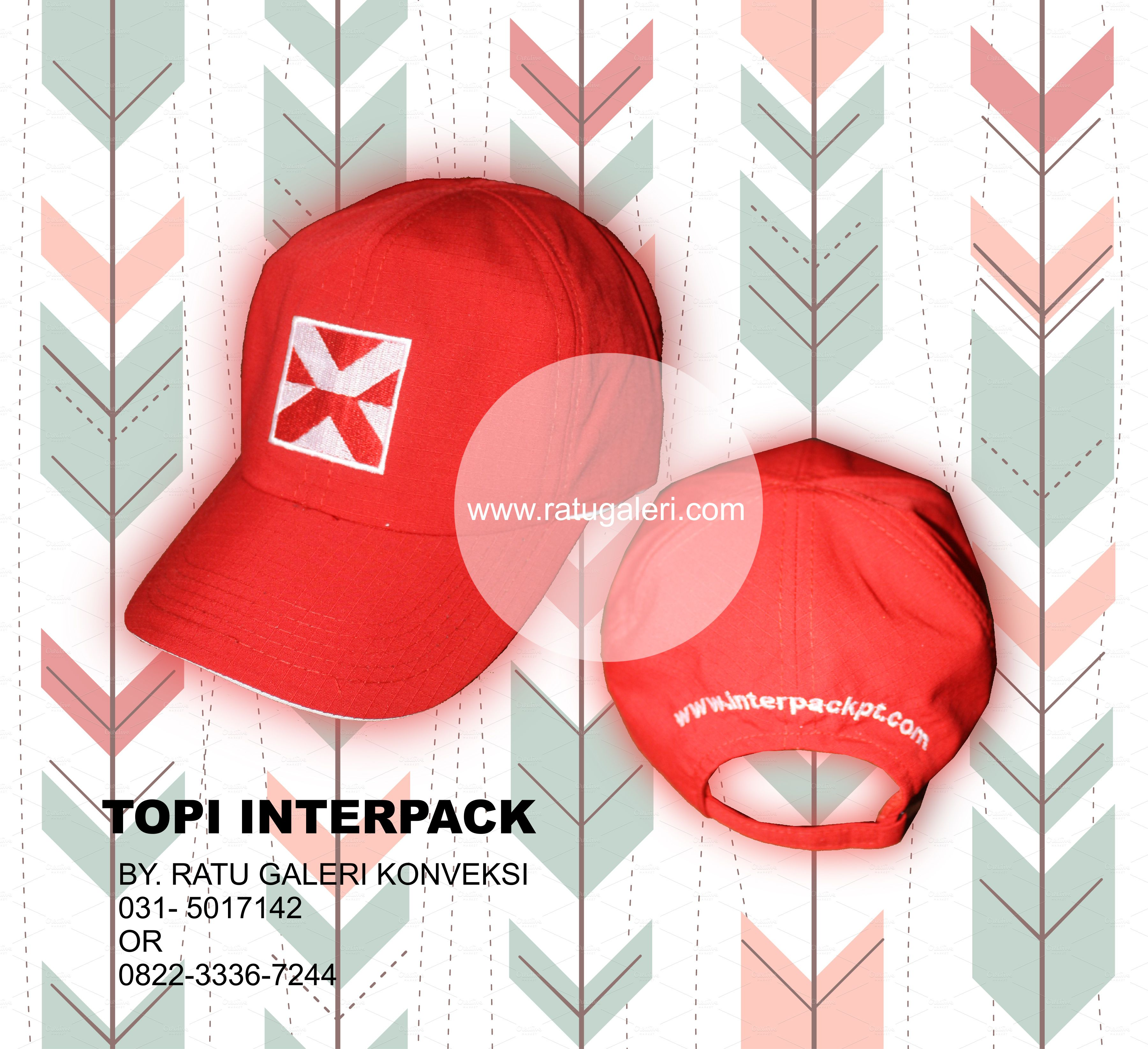 Contoh Desain Topi Drill PT. INTERPACK