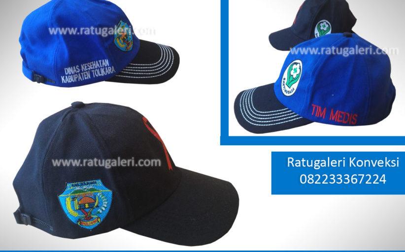Hasil Produksi dan Desain Topi Raphael