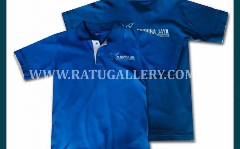 Hasil Produksi Polo Shirt PT. Adipura Jaya Dengan Bahan Lacoste Cotton