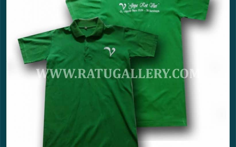 Hasil Produksi Kaos Polo Griya Kost Vuri Dengan Bahan Lacoste Cotton