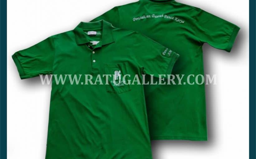 Hasil Produksi Kaos Polo Panca Karya Ambon Dengan Bahan Lacoste Cotton.