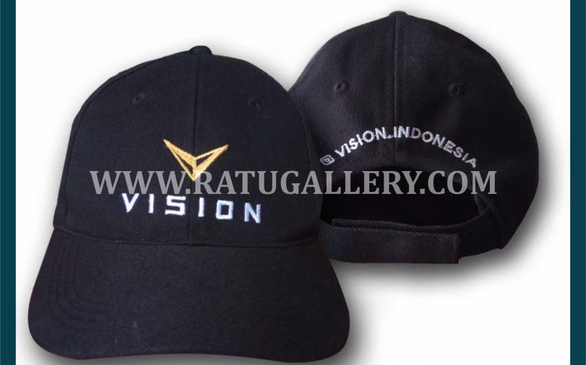 Hasil Produksi Topi Vision Dengan Bahan Rafel Daimaru