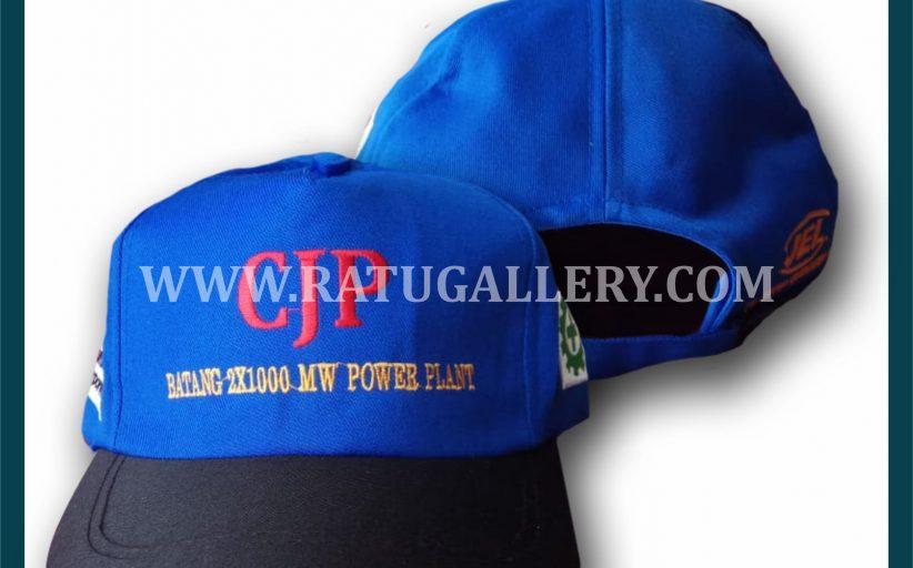 Hasil Produksi Topi CJP Dengan Bahan Drill