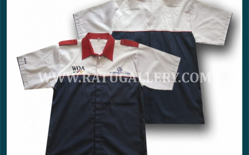 Hasil Produksi Kemeja PT Purnama Jaya Teknik Dengan Bahan Nagata Drill