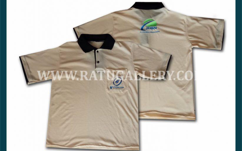 Hasil Produksi Kaos Polo PT. Polowijo Gosari Dengan Bahan Semi Cotton