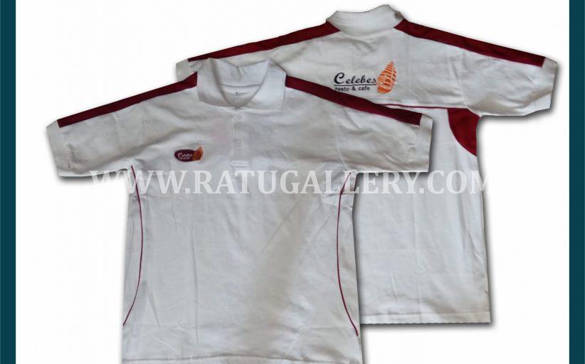 Hasil Produksi Kaos Polo Celebes Dengan Bahan Lacoste Cotton