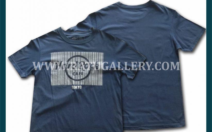 Hasil Produksi Kaos Oblong Hard Rock Cafe Dengan Bahan Combed 24's