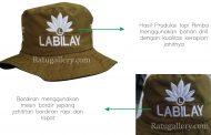 Hasil Produksi Topi Rimba Labilay Custom