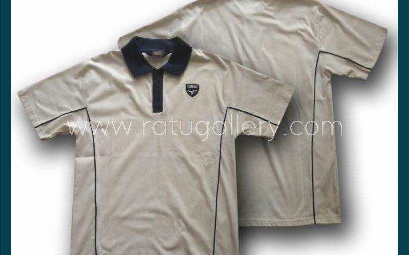 Hasil Produksi Kaos Polo T.CREDIS Dengan Bahan Lacoste Cotton.