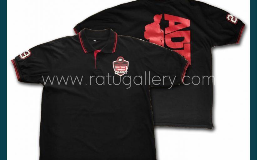 Hasil Produksi Kaos Polo Angkatan Dua Tiga Dengan Bahan Cotton Combed 20's