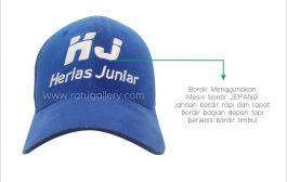 Hasil Produksi Topi Herlas Juniar Custom
