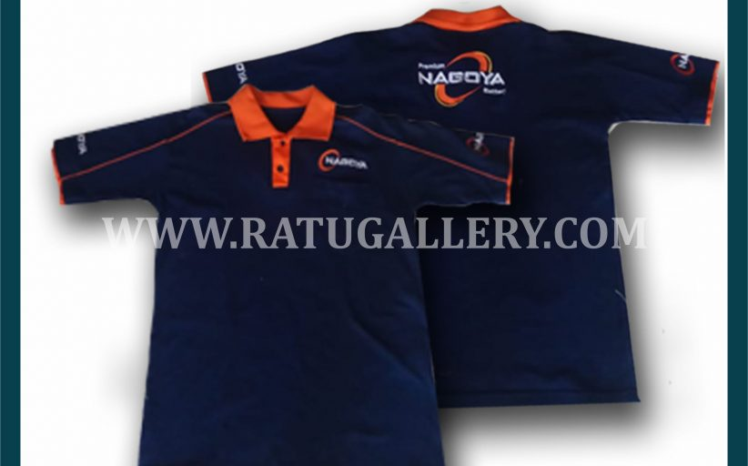 Hasil Produksi Kaos Polo Nagoya Dengan Bahan Lacoste Cotton