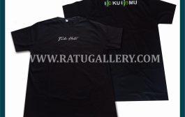 Hasil Produksi Kaos Tiada Henti Dengan Bahan Katun Combed 24's