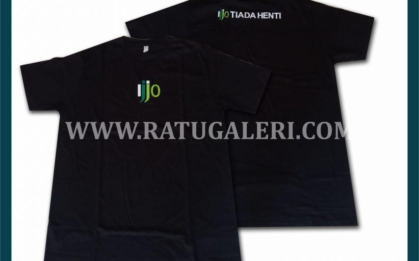 Hasil Produksi Kaos Oblong IJJO Dengan Bahan Katun Combed 24's