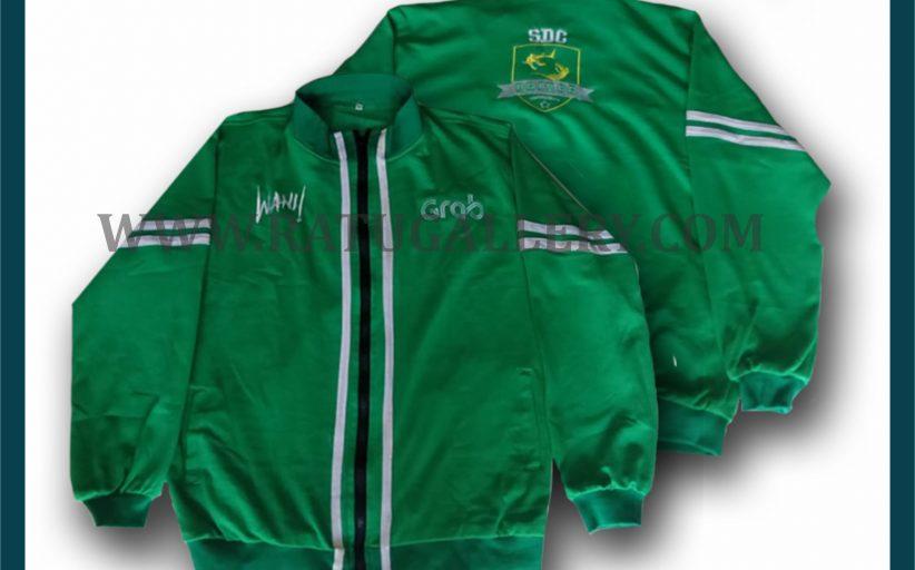 Hasil Produksi Jaket Dari Grab Dengan Bahan Terry