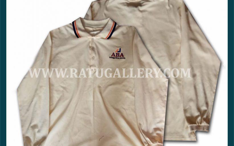 Hasil Produksi Kaos Polo Airlangga Bursa Aesculap Dengan Bahan Lacoste Cotton