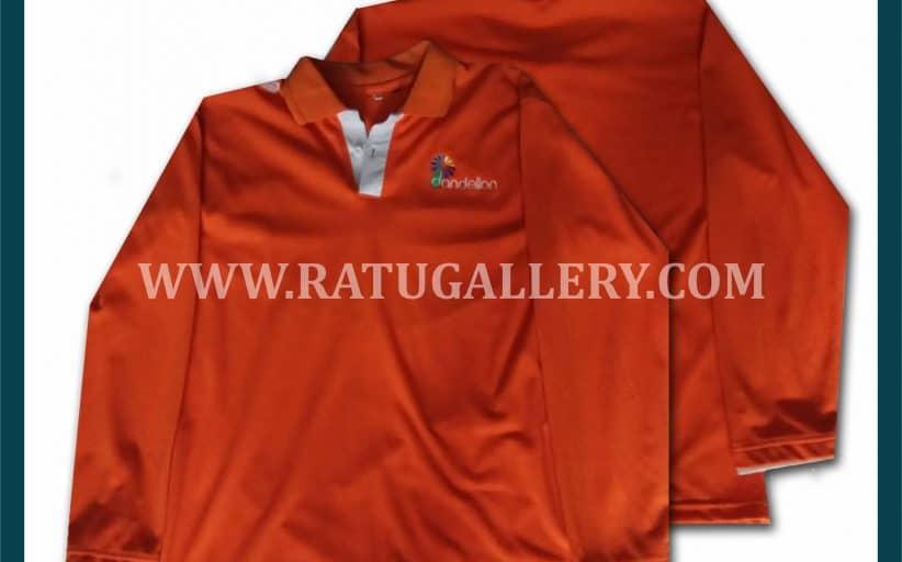 Hasil Produksi Polo Shirt Dandelion Dengan Bahan Lacoste Cotton