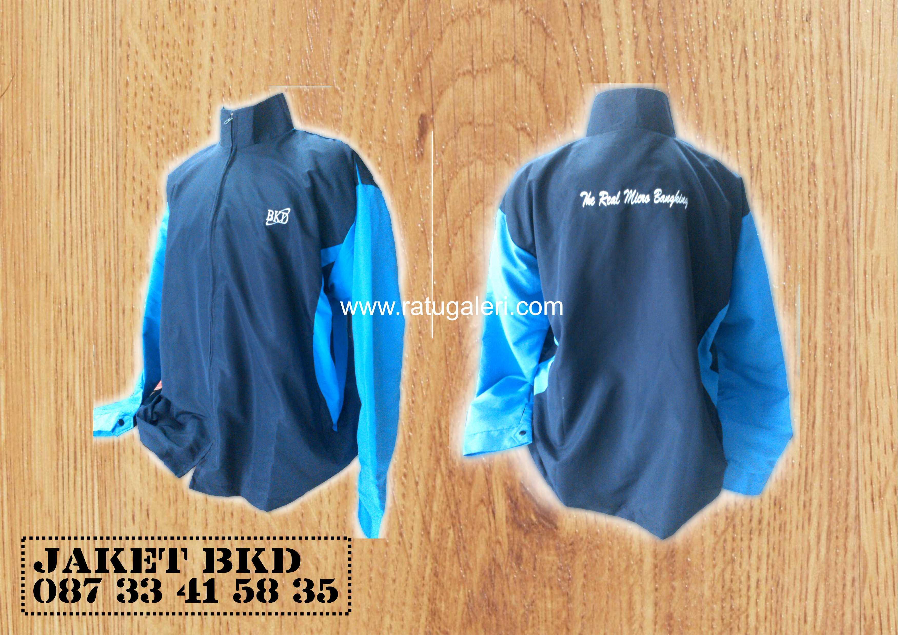 Contoh Desain Jaket BKD (Mikro)