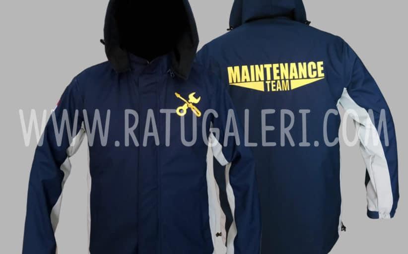 Hasil Produksi Dan Desain Jaket Gore-tex Maintenance