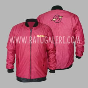 Hasil Produksi Jaket Parasut Milky PLN Rayon Blega