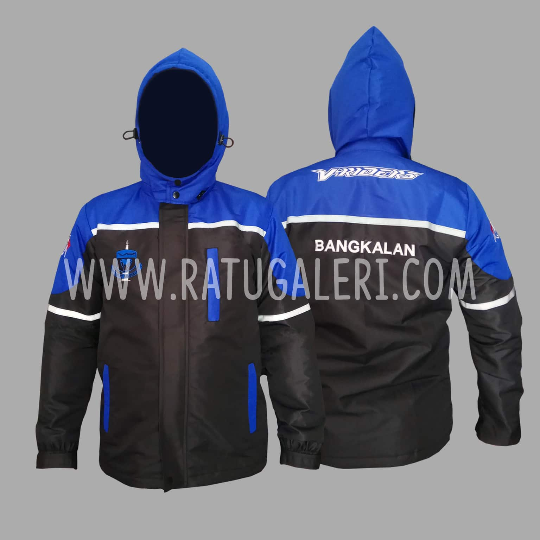 Hasil Produksi Jaket V-Riders Bangkalan